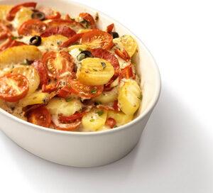 Aardappel Anders - Spaanse aardappelschotel met chorizo